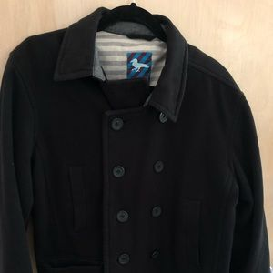 Modern amusement pea coat